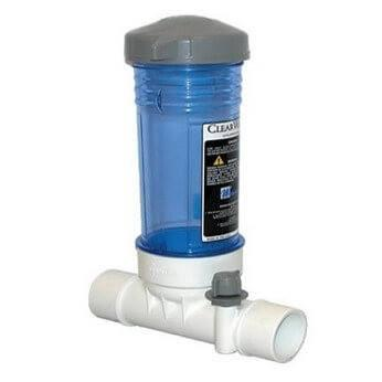 Clearwater In-Line Chlorine Feeder For Swimming Pools - World of Pools