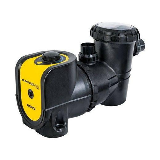Silensor Pro Davey 1.5HP Adjustable Speed Swimming Pool Pump - World of Pools