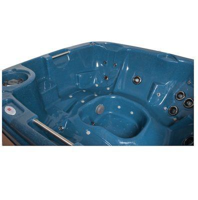 DuraSpa S380 5-6 Person Hot Tub - Midnight Blue - Rotospa - World of Pools