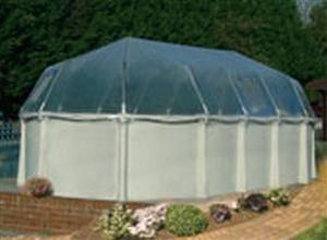 Fabrico Sun Dome Enclosures For Doughboy Pools - World of Pools