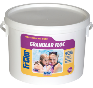 Fi-Clor Granular Floc For Swimming Pools - World of Pools