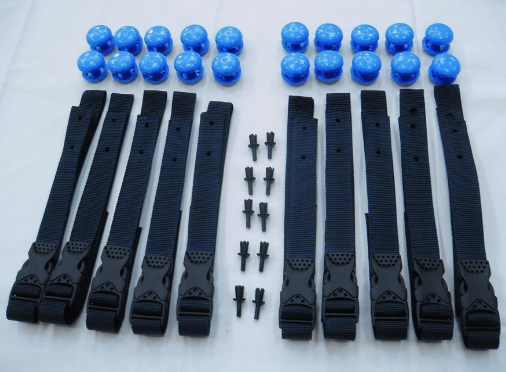 Strap Set for Swimming Pool Reel Systems