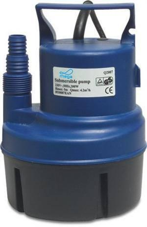 Swimming Pool Mega Submersible Pump 5000 L/H - World of Pools