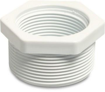 "Swimming Pool Threaded reducer 2"" to 1.5"" - World of Pools"