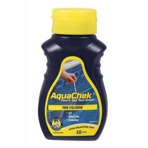 Hot Tub Aquachek Chlorine Test Strips - World of Pools