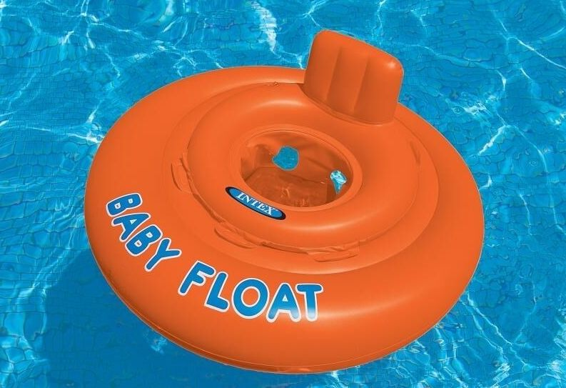 Intex Baby Float Swim Seat - Ages 1 to 2 Years #56588EU - World of Pools
