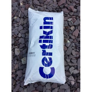 swimming pool sand media in 25kg bags for use in pool fiteration systems