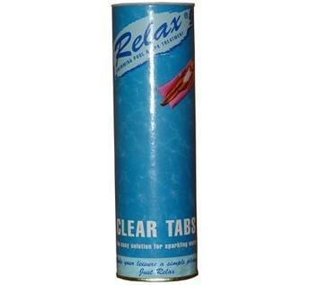 Relax Clear Tabs Swimming Pool Clarifier - World of Pools