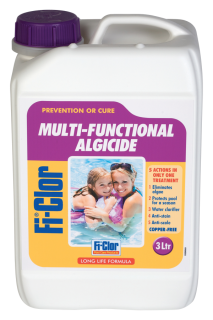 Fi-Clor Multi-Functional Algicide - Long Life Summer & Winter Algicide - 3 Litres - World of Pools