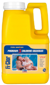 Fi-Clor Premium 5 Chlorine Granules 3kg - World of Pools