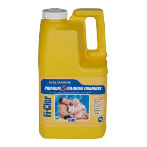 Fi-Clor Premium 5 Chlorine Granules 5kg - World of Pools