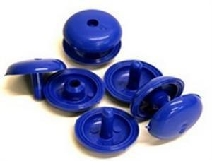 Poppers For Solar Covers- Blue Press Fix Studs - World of Pools