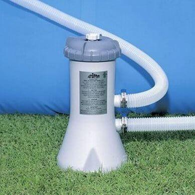 Intex Filter Pump - Krystal Klear Cartridge Swimming Pool Pump - World of Pools