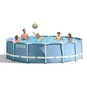 "Intex Prism Metal Frame Pool 12ft x 39"" - World of Pools"