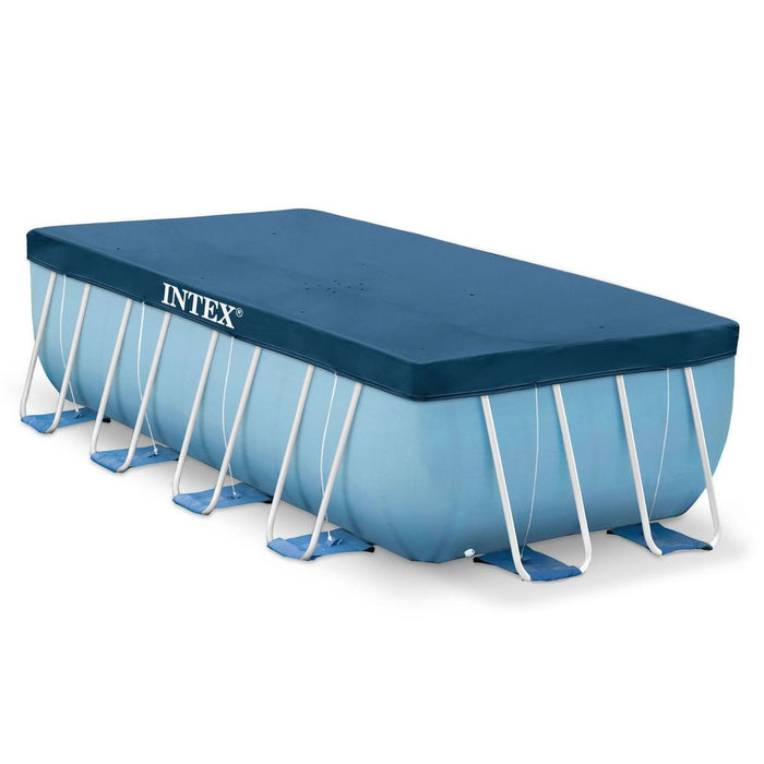 Intex Rectangular Frame Pool Debris Covers - #28037, #28038 & #28039 - World of Pools