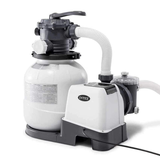 Intex Sand Filter & Pump - #26646 - 2100 Gallons Per Hour - World of Pools