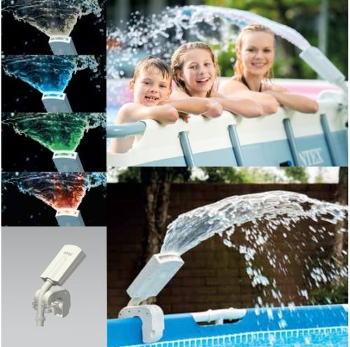 Intex Multi-Colour LED Spray Fountain #28089 - World of Pools
