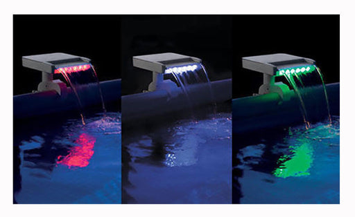 Intex Multi-Colour LED Waterfall Cascade #28090 - World of Pools