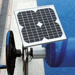 Plastica Slidelock Reel with Wireless Motorised Kit - World of Pools