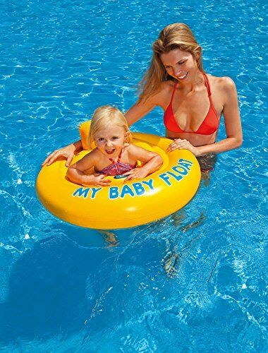 Intex My Baby Float Swim Seat - Ages 6 months to 1 Year Old - World of Pools