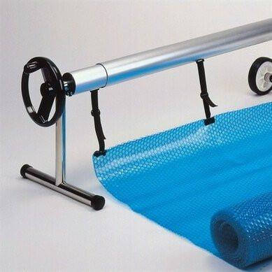 Premium Inground Swimming Pool Solar Cover Reel System - World of Pools