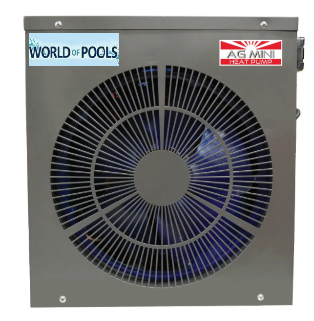 AG Mini 2.9kw Heat Pump - Plug & Play - Above Ground Swimming Pools