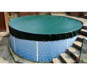 Above Ground Pool Round Winter Debris Covers - World of Pools