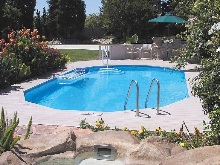 Doughboy 12ft x 24ft Regent Oval Swimming Pool - World of Pools
