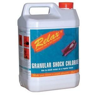Relax Chlorine Shock Granules - World of Pools