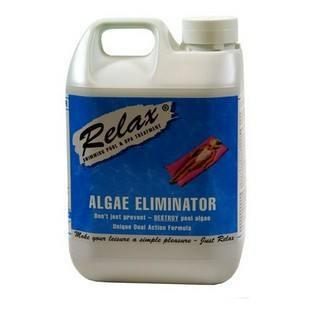 Relax Alage Eliminator For Swimming Pools - World of Pools