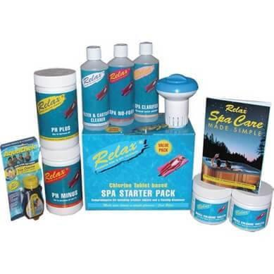 Hot Tub Spa Starter Kit - World of Pools