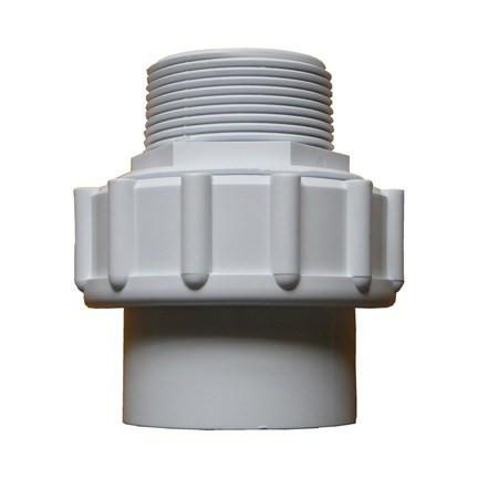 Socket Union Male Thread to Pipe 1.5 inch