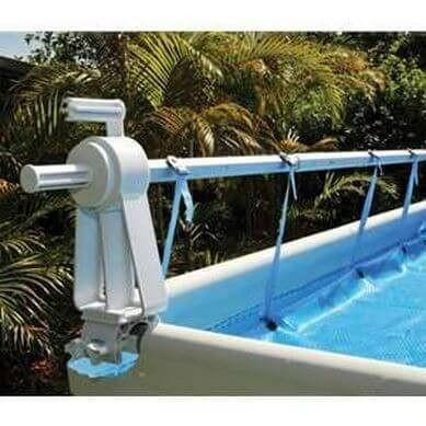 Solaris Above Ground Swimming Pool Solar Cover Reel - World of Pools
