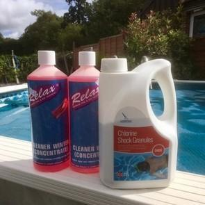 Swimming Pool Spring & Summer Opening Chemical Kit - World of Pools