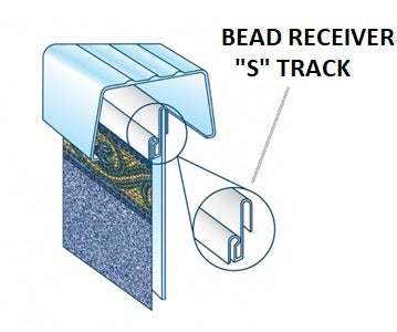 Bead Receiver - Converts Overlap Liner Pools To Beaded Liner Pools - World of Pools