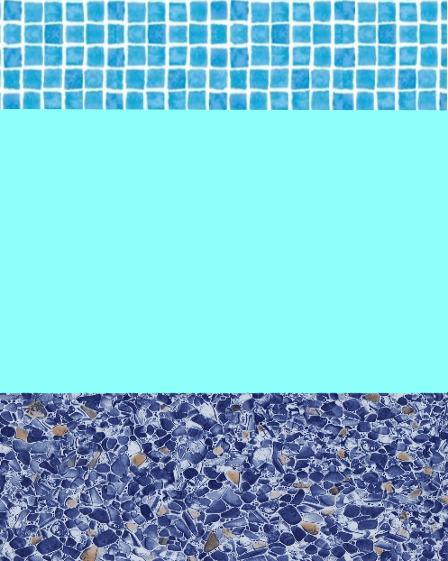 Combination 30 Thou Swimming Pool Liner - World of Pools
