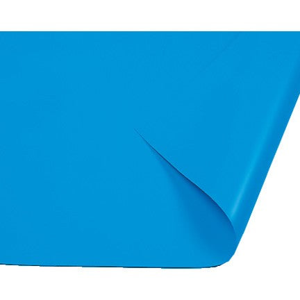 Plain Blue 20 Thou Swimming Pool Liner - World of Pools