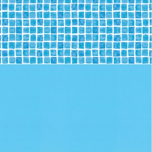 Plain With Tileband 20 Thou Swimming Pool Liner - World of Pools