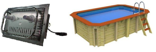 X-Stream Exercise Pool - Plastica Wooden Pool - World of Pools