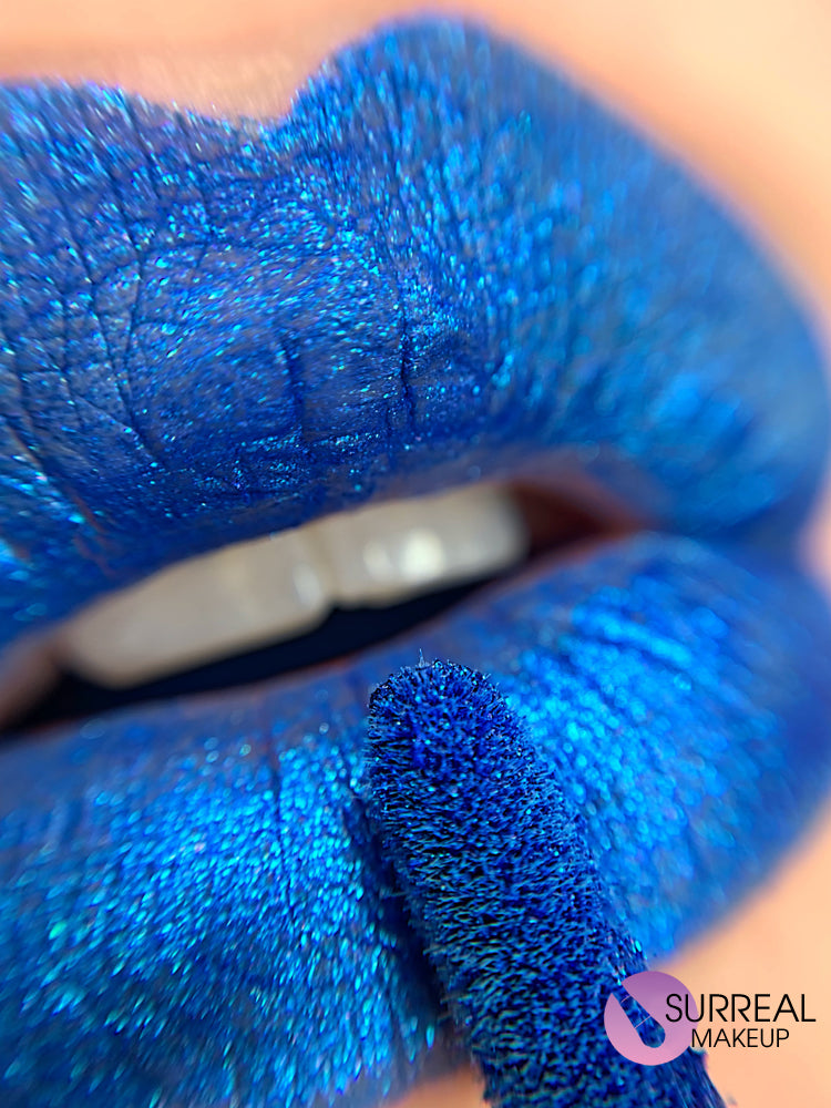 Blue Diamond Matte Lipstick by Surreal Makeup