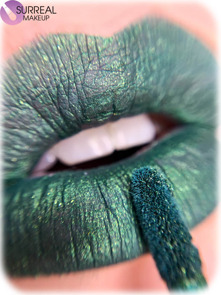 Emerald Matte Lipstick by Surreal Makeup