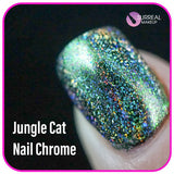 Jungle Cat Nail Chrome