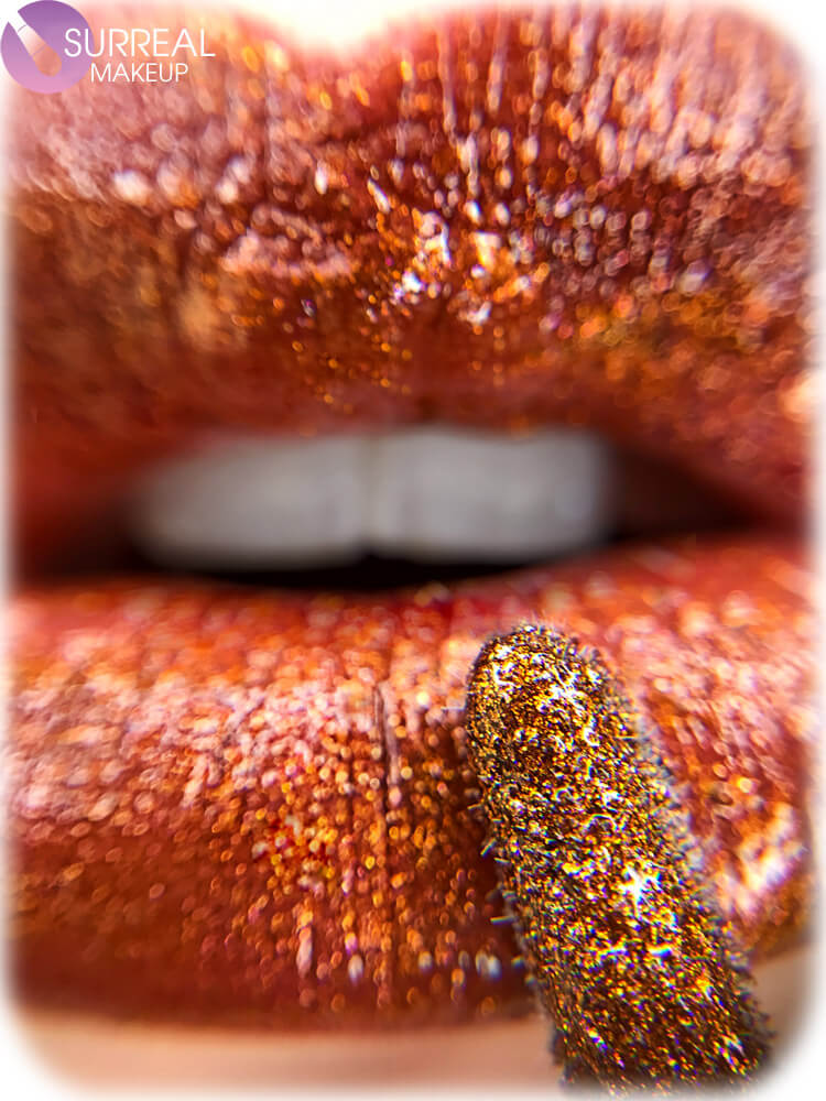 Pumpkin Spice Lip Gloss by Surreal Makeup