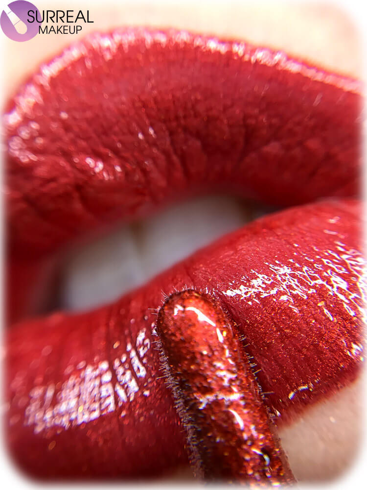 Red Delicious Lip Gloss by Surreal Makeup