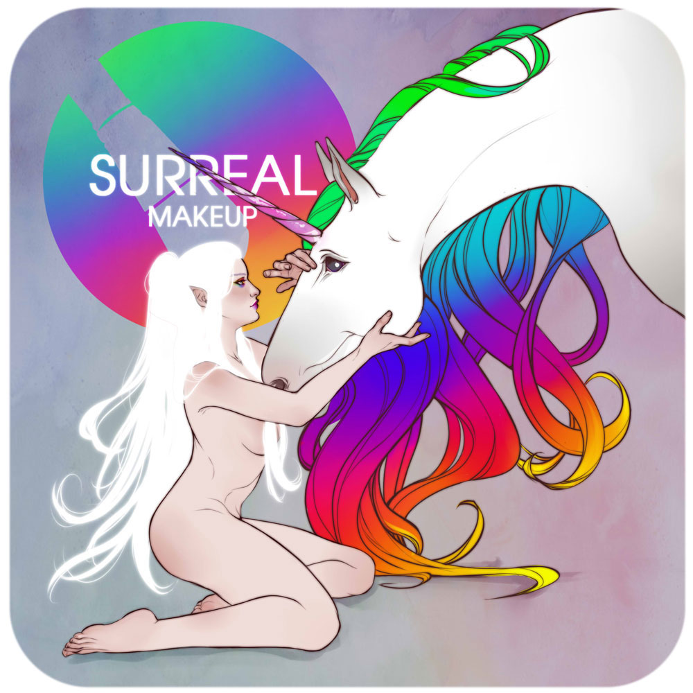 Unicorn Eye Shadow Collection by Surreal Makeup