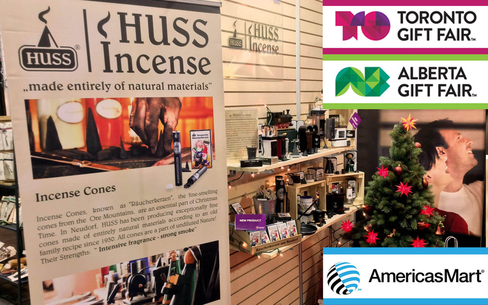 Huss Incense at CanGift Fairs