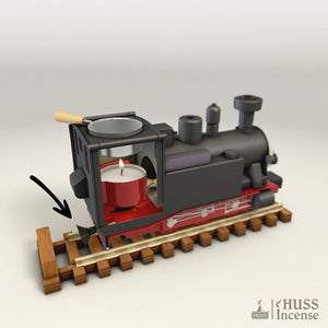 HUSS Incense Aromatic Steam Train