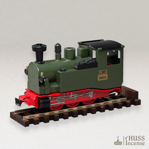 HUSS Incense Aromatic Steam Train green