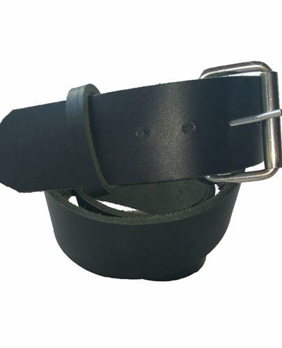 black leather belt, single tang buckle, kilt belt, kilt accessories