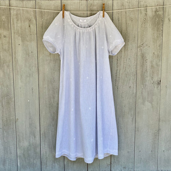 Jack Night Dress with Hand Embroidery